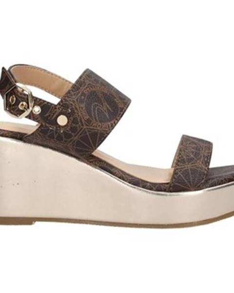 Hnedé topánky Gattinoni