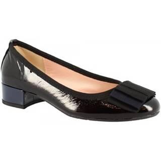 Lodičky Leonardo Shoes  2356 NAPLAK NERO