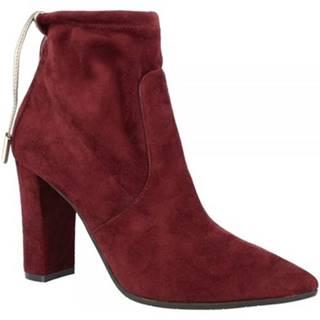 Čižmičky Leonardo Shoes  9917 STRETCH BORDO