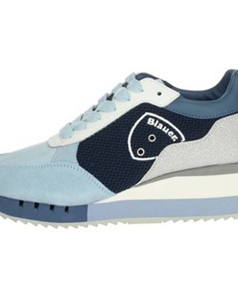 Modré tenisky Blauer