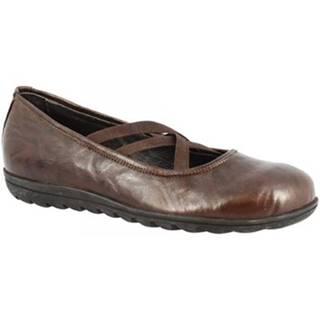 Balerínky/Babies Leonardo Shoes  513 STROPICCIATO T. MORO