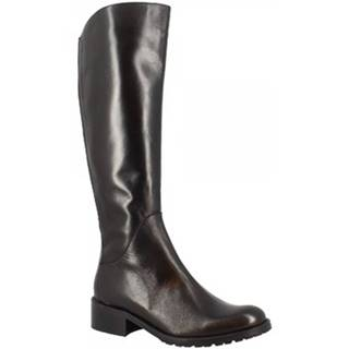 Čižmy do mesta Leonardo Shoes  2598 NAPPA NERO