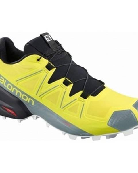 Žlté topánky Salomon