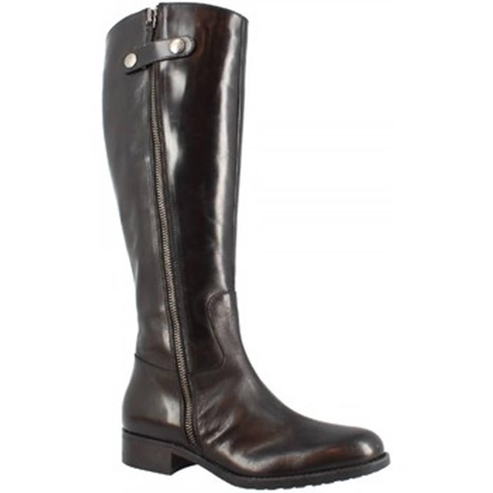 Leonardo Shoes Čižmy do mesta Leonardo Shoes  D08950 TQ. 01 TEQUILA NERO