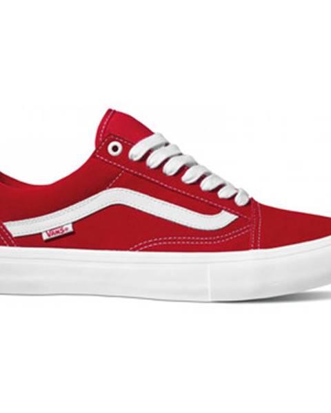 Červené topánky Vans