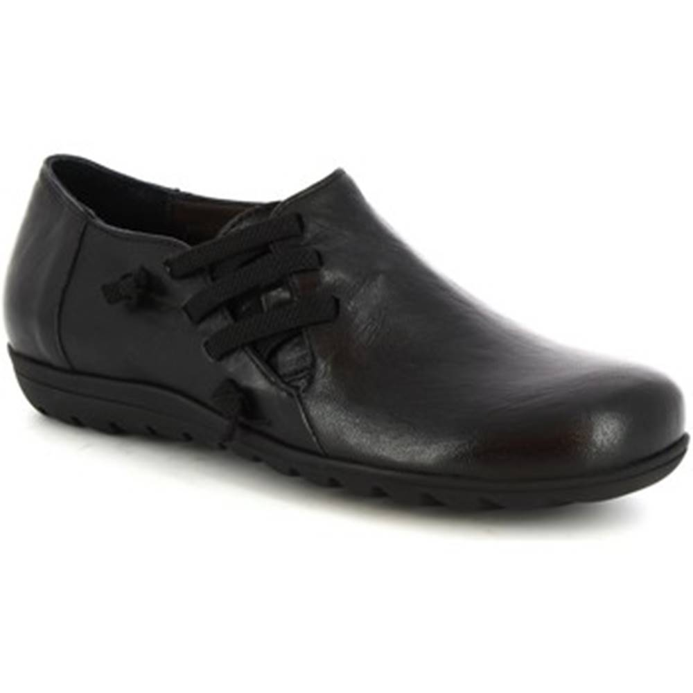 Leonardo Shoes Polokozačky Leonardo Shoes  4524 NERO