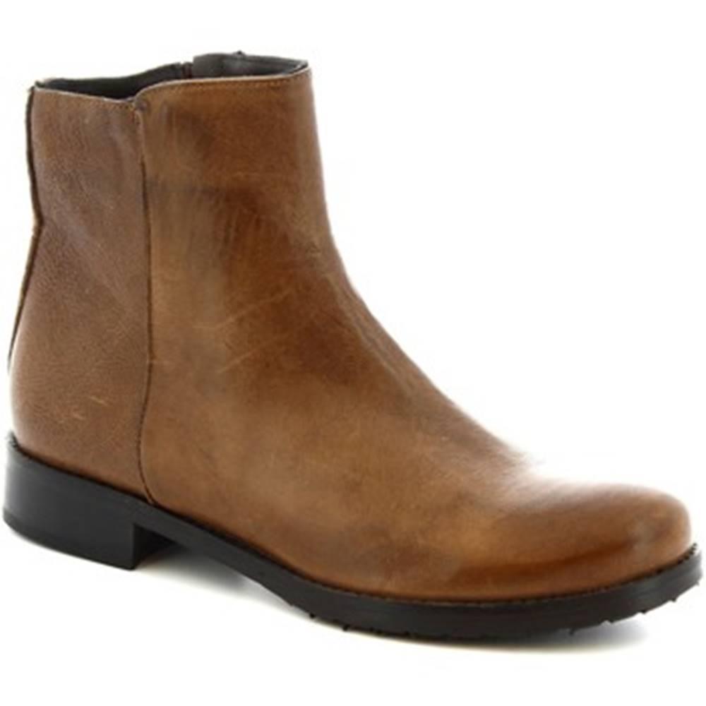 Leonardo Shoes Polokozačky Leonardo Shoes  600 ROK T. MORO