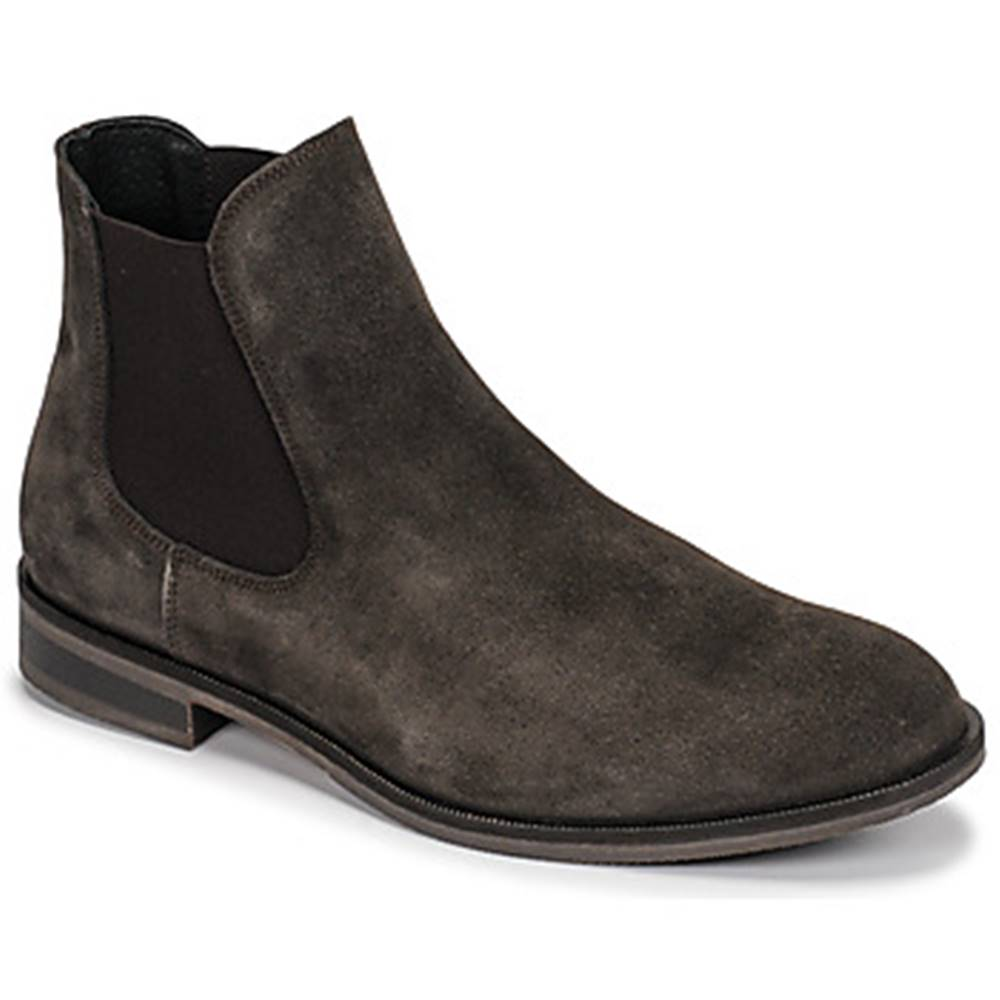 Selected Polokozačky  LOUIS SUEDE CHELSEA BOOT