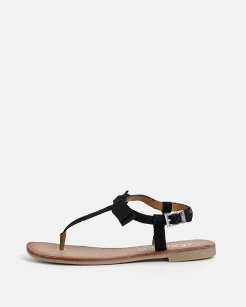 Čierne sandále S.Oliver
