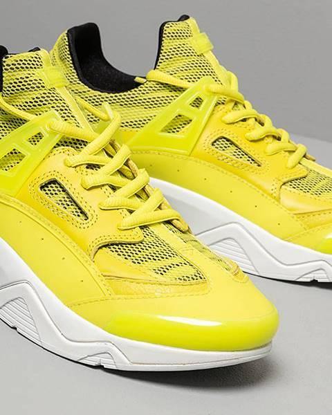 Žlté tenisky Kenzo