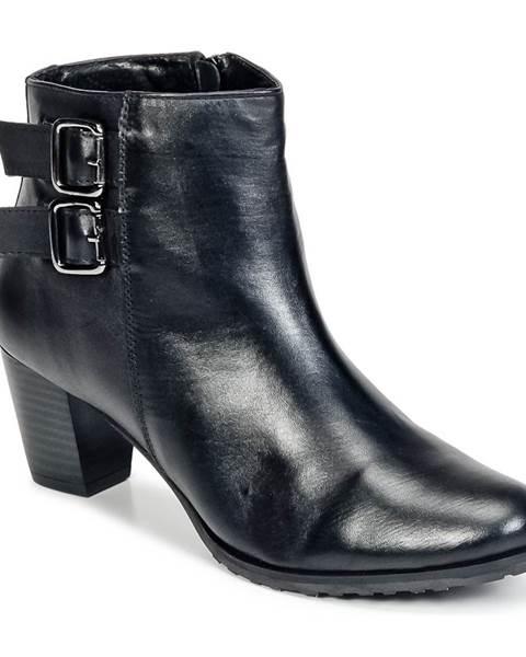 Čierne topánky Balsamik