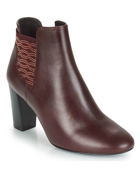 Bordové topánky Bocage