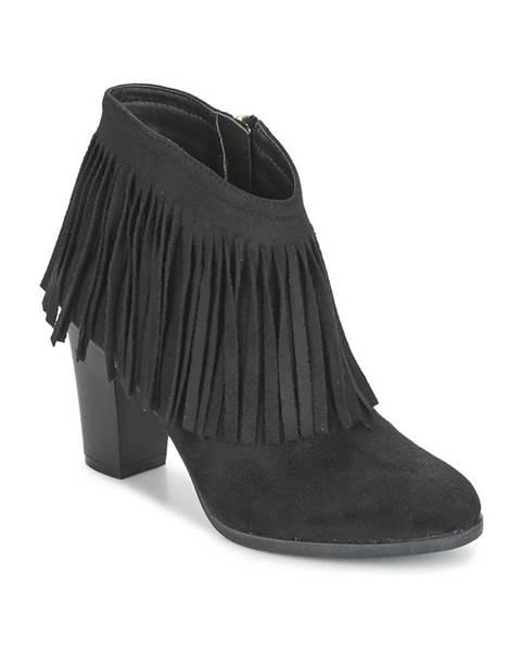 Čierne topánky Elue par nous