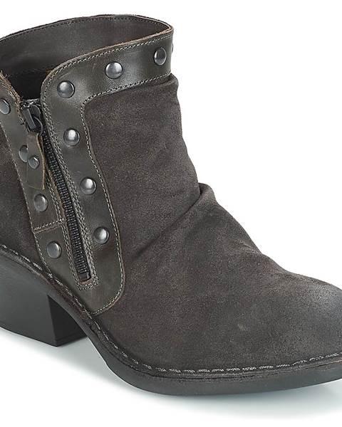 Čierne topánky Fly London