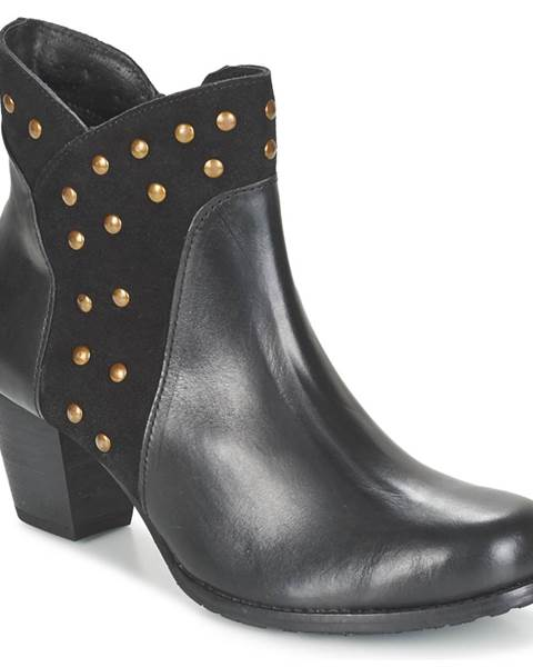 Čierne topánky Hush puppies