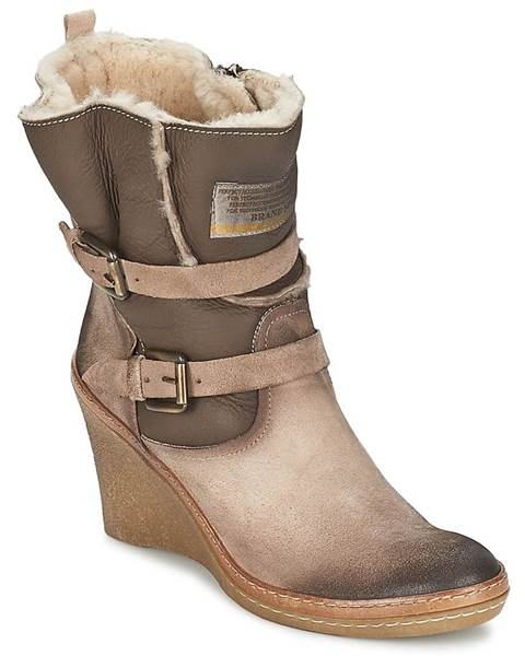 Béžové topánky Manas