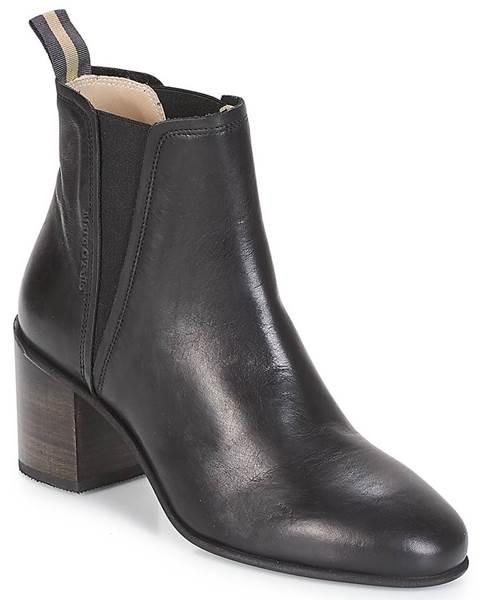 Čierne topánky Marc O'Polo