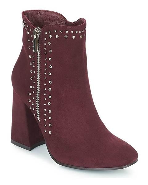 Bordové topánky Xti