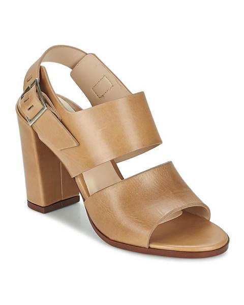Béžové sandále Dune