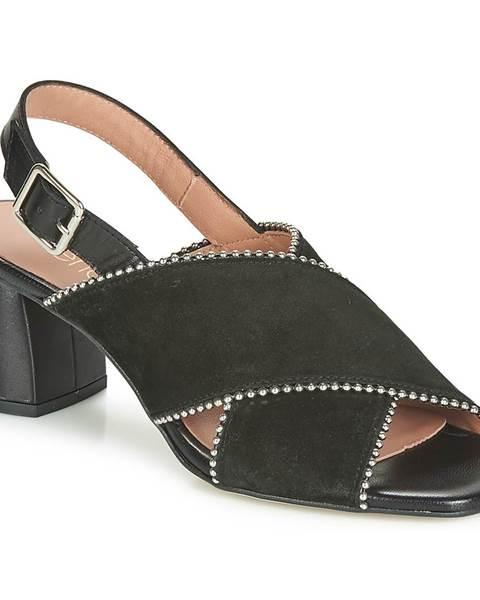 Čierne sandále Fericelli