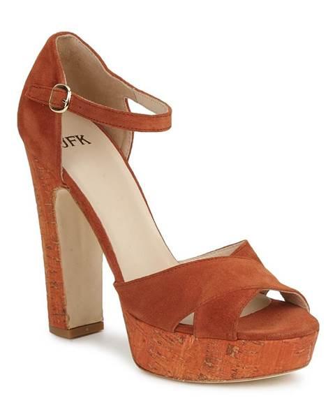 Hnedé sandále JFK