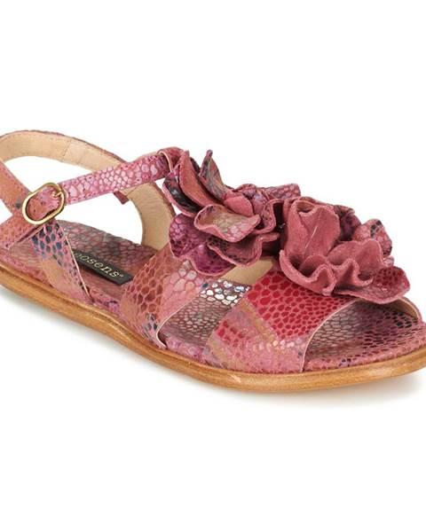 Ružové sandále Neosens