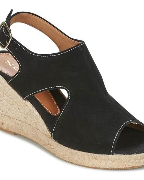 Čierne sandále Nome Footwear
