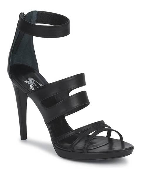 Čierne sandále Paul   Joe
