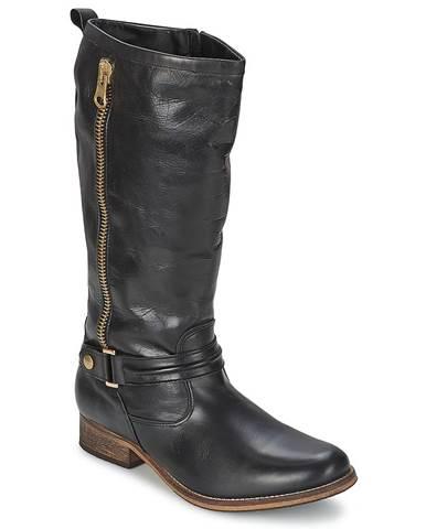 Čierne čižmy Nome Footwear