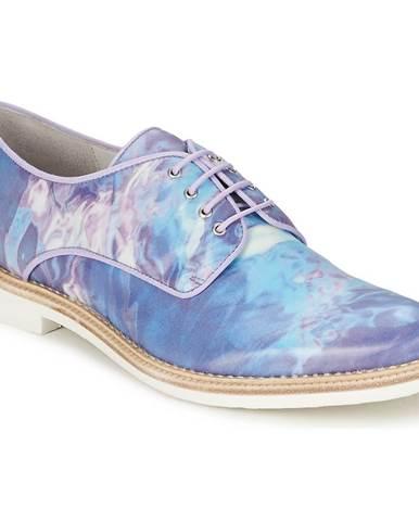 Modré topánky Miista