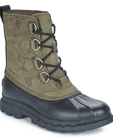 Zelené topánky Sorel