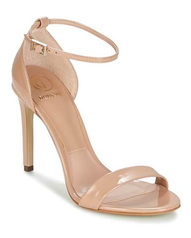 Béžové sandále Dumond