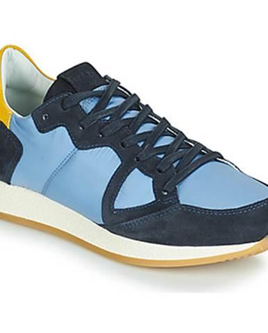 Modré tenisky Philippe Model