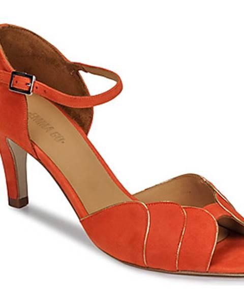 Oranžové sandále Emma Go