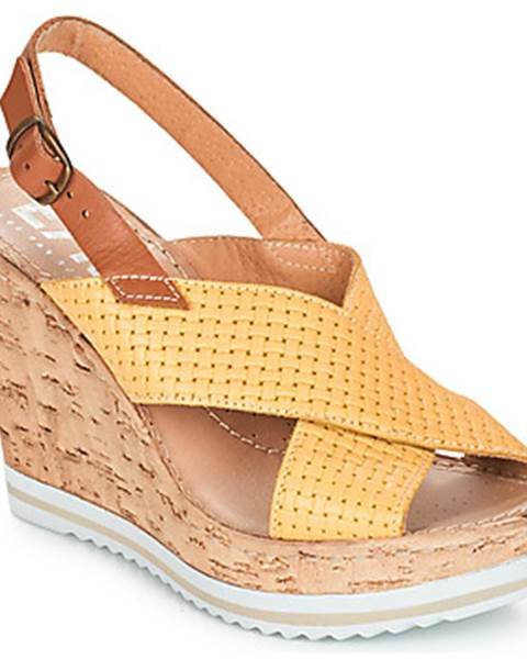 Žlté sandále Elue par nous