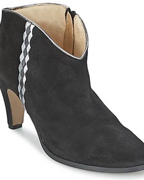 Čierne topánky Petite Mendigote