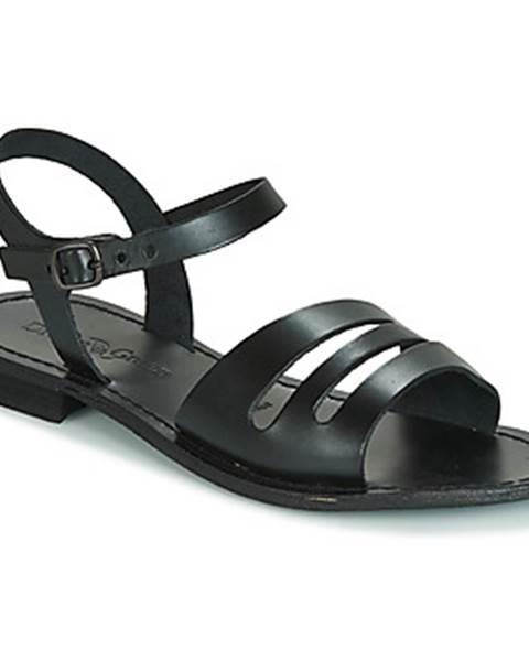 Čierne sandále Dream in Green