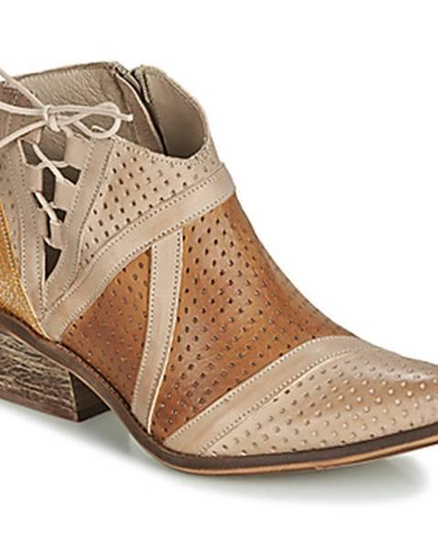 Hnedé topánky Casta
