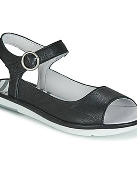 Čierne sandále Fly London