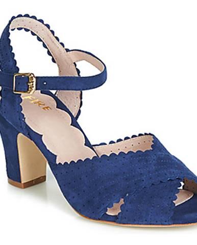 Modré sandále Miss L'Fire