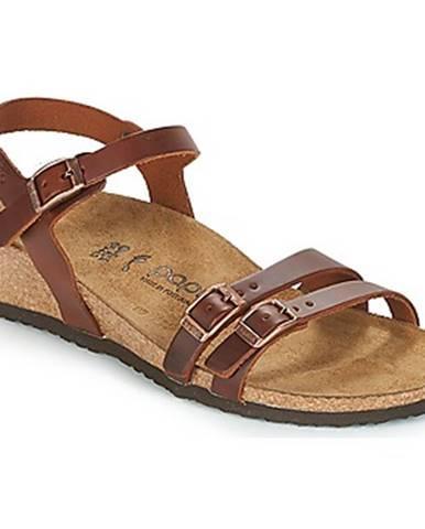 Hnedé sandále Papillio
