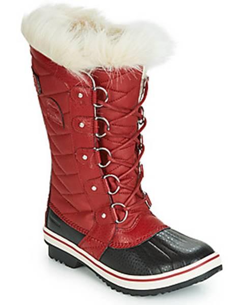 Červené topánky Sorel