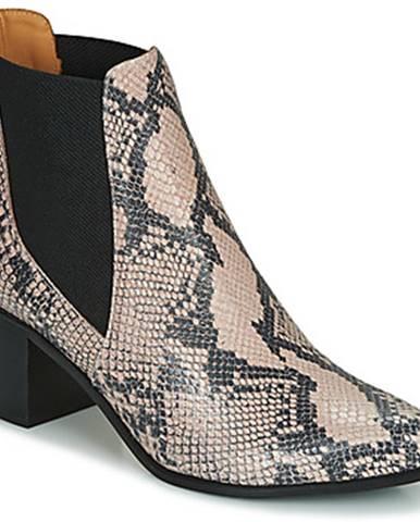 Béžové topánky Emma Go