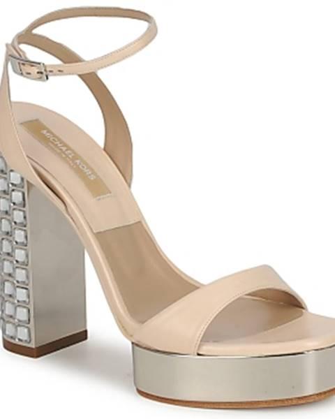 Ružové sandále Michael Kors