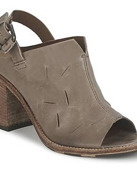 Hnedé sandále OXS