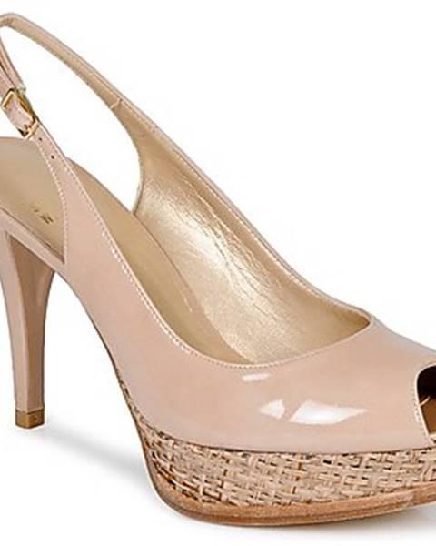 Ružové sandále Stuart Weitzman