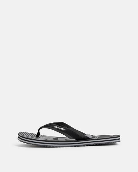 Čierne sandále Meatfly