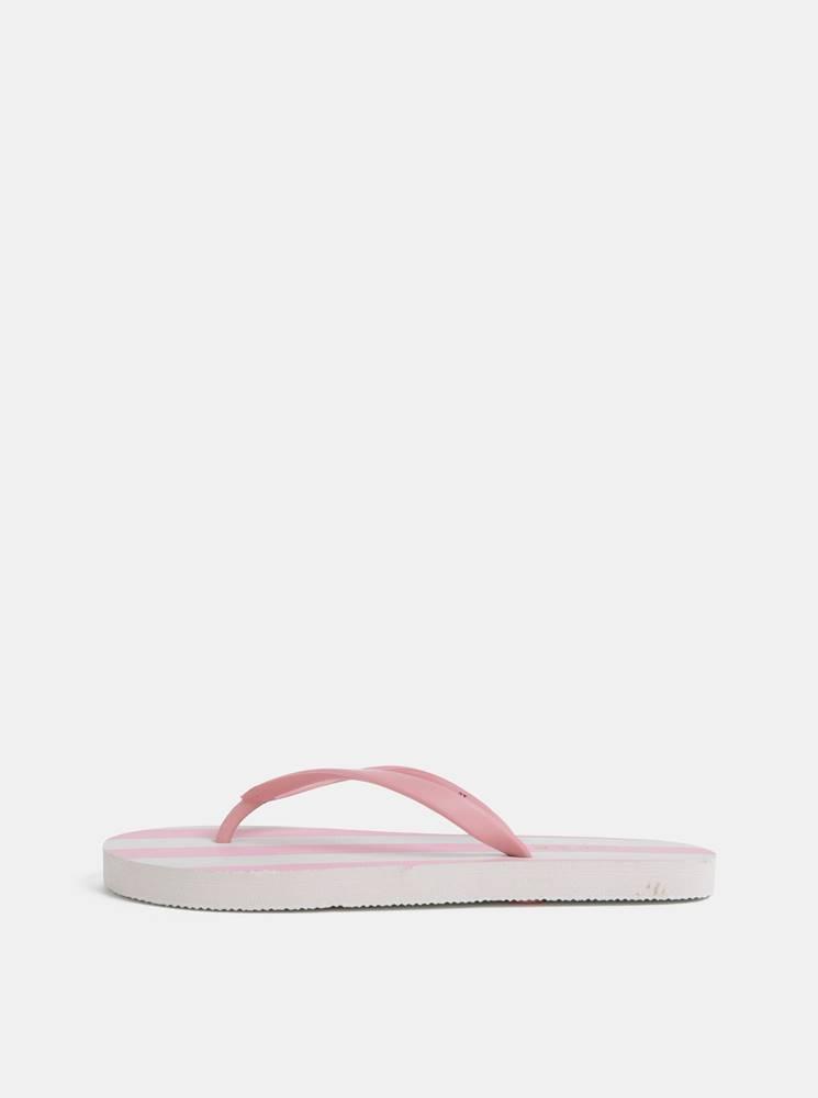 Bielo–ružové pruhované žabk...