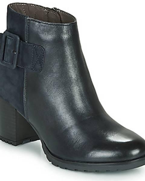 Modré topánky Caprice