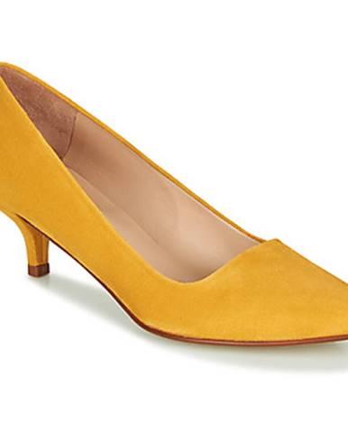 Žlté lodičky Paco Gil